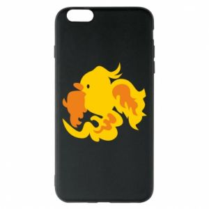 Phone case for iPhone 6 Plus/6S Plus Golden Phoenix - PrintSalon
