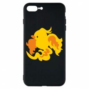 Phone case for iPhone 7 Plus Golden Phoenix - PrintSalon