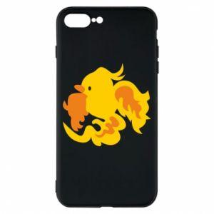 Phone case for iPhone 8 Plus Golden Phoenix - PrintSalon