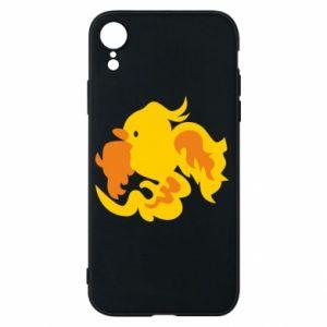 Phone case for iPhone XR Golden Phoenix - PrintSalon