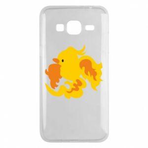 Phone case for Samsung J3 2016 Golden Phoenix - PrintSalon