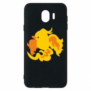 Phone case for Samsung J4 Golden Phoenix - PrintSalon