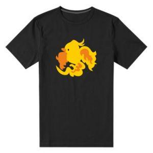 Men's premium t-shirt Golden Phoenix - PrintSalon