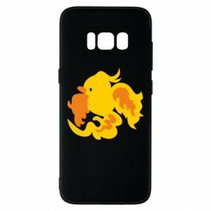 Phone case for Samsung S8 Golden Phoenix - PrintSalon