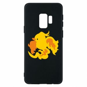 Phone case for Samsung S9 Golden Phoenix - PrintSalon