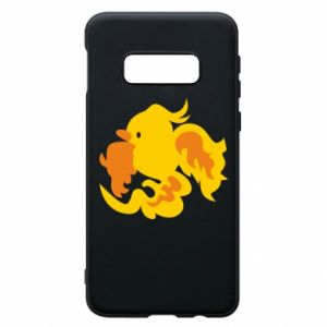 Phone case for Samsung S10e Golden Phoenix - PrintSalon