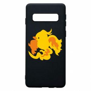 Phone case for Samsung S10 Golden Phoenix - PrintSalon