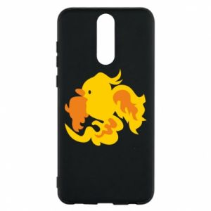 Phone case for Huawei Mate 10 Lite Golden Phoenix - PrintSalon