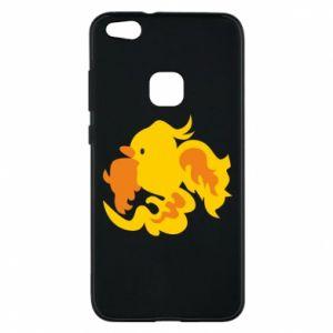 Phone case for Huawei P10 Lite Golden Phoenix - PrintSalon