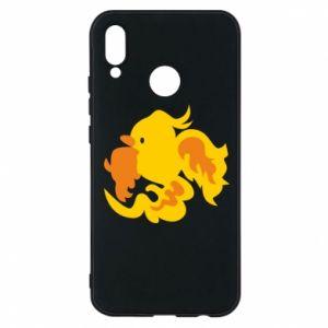 Phone case for Huawei P20 Lite Golden Phoenix - PrintSalon