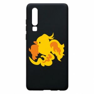 Phone case for Huawei P30 Golden Phoenix - PrintSalon