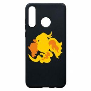 Phone case for Huawei P30 Lite Golden Phoenix - PrintSalon