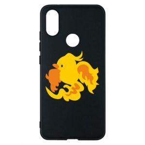 Phone case for Xiaomi Mi A2 Golden Phoenix - PrintSalon