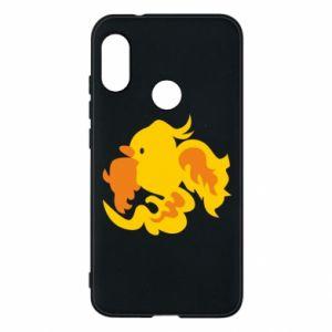Phone case for Mi A2 Lite Golden Phoenix - PrintSalon