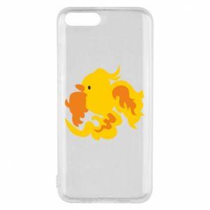 Phone case for Xiaomi Mi6 Golden Phoenix - PrintSalon