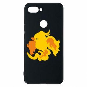 Phone case for Xiaomi Mi8 Lite Golden Phoenix - PrintSalon