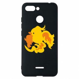 Phone case for Xiaomi Redmi 6 Golden Phoenix - PrintSalon