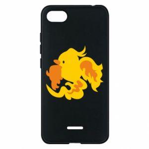 Phone case for Xiaomi Redmi 6A Golden Phoenix - PrintSalon