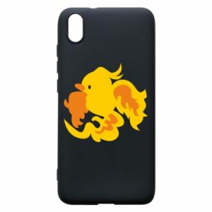 Phone case for Xiaomi Redmi 7A Golden Phoenix - PrintSalon