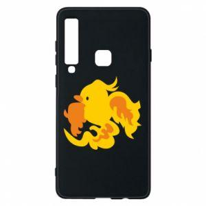 Phone case for Samsung A9 2018 Golden Phoenix - PrintSalon