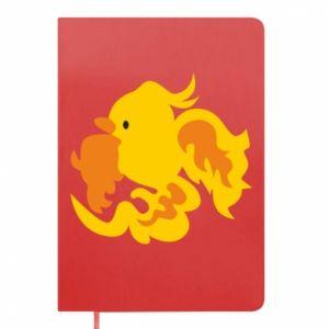 Notepad Golden Phoenix - PrintSalon