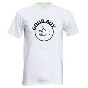Men's sports t-shirt Good boy