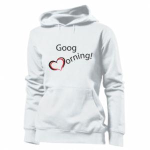 Damska bluza Good morning z sercem