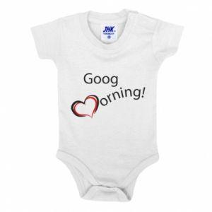 Body dla dzieci Good morning z sercem