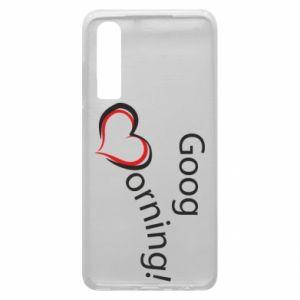 Etui na Huawei P30 Good morning z sercem