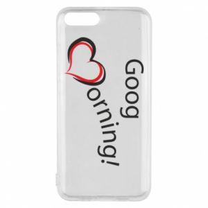 Etui na Xiaomi Mi6 Good morning z sercem
