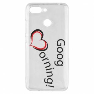 Etui na Xiaomi Redmi 6 Good morning z sercem