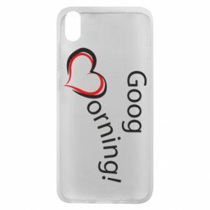 Etui na Xiaomi Redmi 7A Good morning z sercem