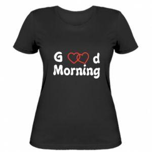Damska koszulka Good morning