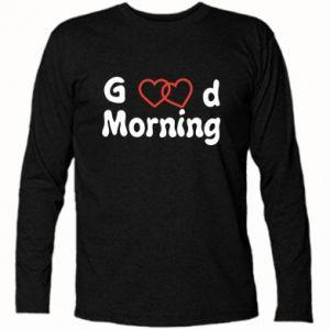 Koszulka z długim rękawem Good morning