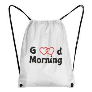 Plecak-worek Good morning