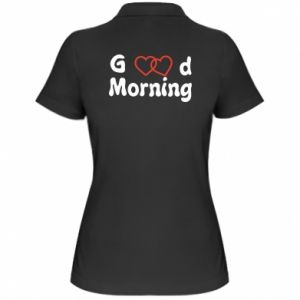 Damska koszulka polo Good morning