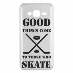 Phone case for Samsung J3 2016 Good skate