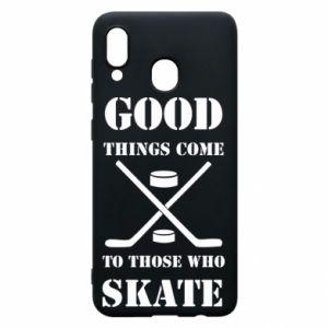 Phone case for Samsung A20 Good skate