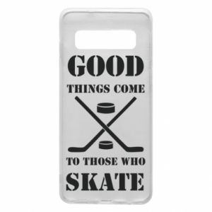 Etui na Samsung S10 Good skate - PrintSalon