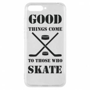 Etui na Huawei Y6 2018 Good skate - PrintSalon