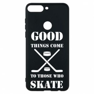 Phone case for Huawei Y7 Prime 2018 Good skate