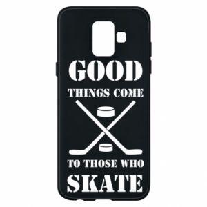 Phone case for Samsung A6 2018 Good skate