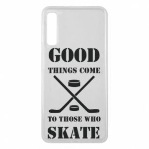 Etui na Samsung A7 2018 Good skate - PrintSalon
