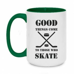 Two-toned mug 450ml Good skate