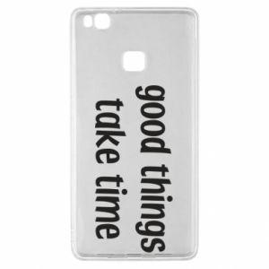 Etui na Huawei P9 Lite Good things take time
