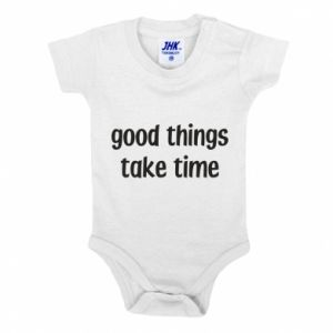 Body dziecięce Good things take time