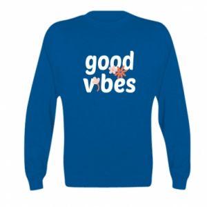 Bluza dziecięca Good vibes flowers