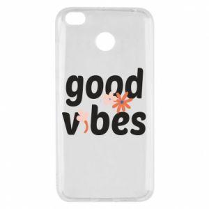 Etui na Xiaomi Redmi 4X Good vibes flowers