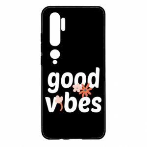 Etui na Xiaomi Mi Note 10 Good vibes flowers