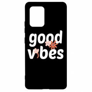 Etui na Samsung S10 Lite Good vibes flowers